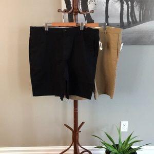 2 pairs Old Navy slim shorts